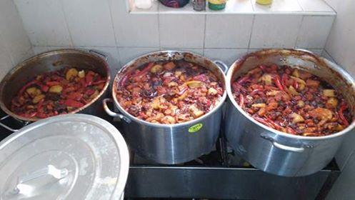 בית התבשיל, סעודת עניים,אוכל,בשר