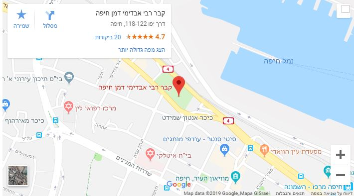 Photo of הילולת רבי אבדימי דמן חיפה