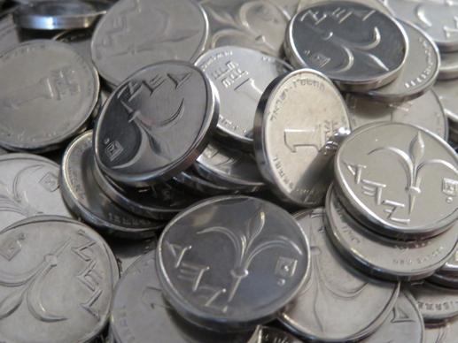 תפילה ,שקלים,מטבעות