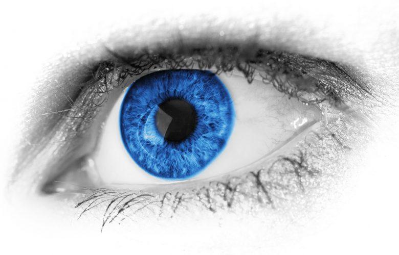 תפילה נגד עין הרע, עין כחולה