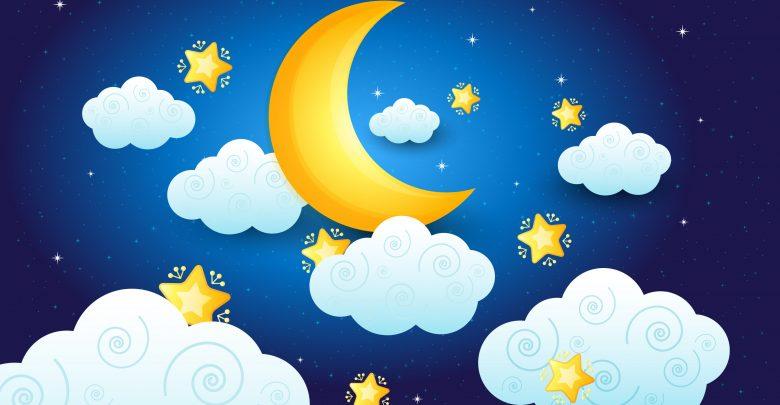 פתרון חלומות,ירח,לילה,כוכבים,ענן,חלומות