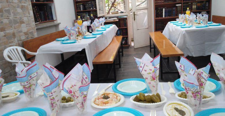 סעודות מצווה בישיבת נצח מאיר ירושלים